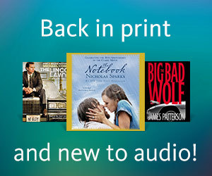 Back in Print and New to Audio