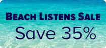 Beach Listens Sale