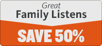 Great Family Listens Sale