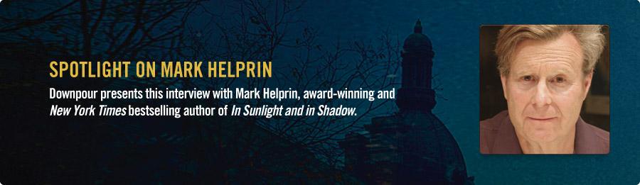 Mark Helprin Interview - Listen Now
