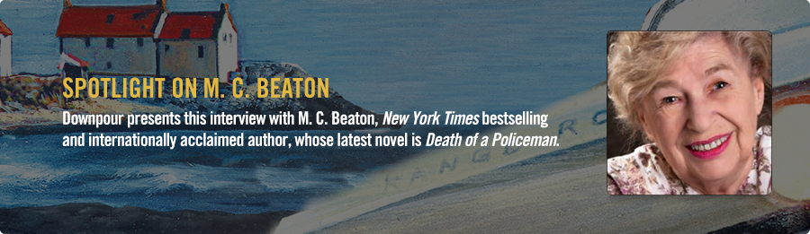M. C. Beaton Interview - Listen Now