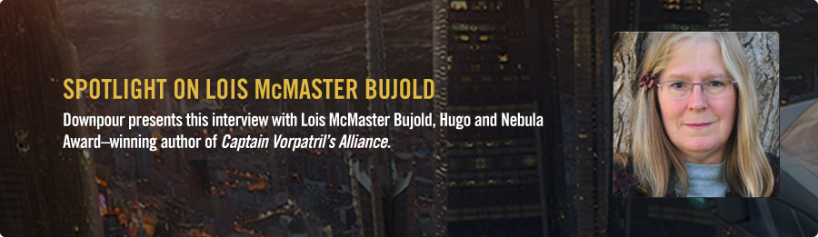 Lois McMaster Bujold Interview - Listen Now