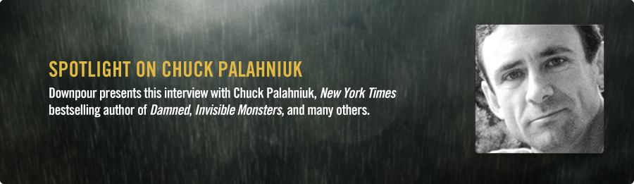 Chuck Palahniuk Interview - Listen Now