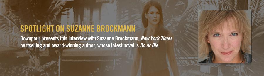 Suzanne Brockmann Interview - Listen Now
