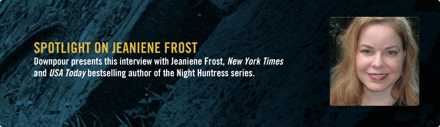 Jeaniene Frost Interview - Listen Now