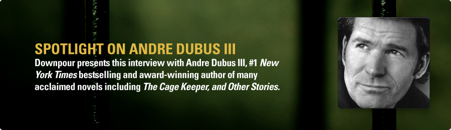 Andre Dubus III Interview - Listen Now