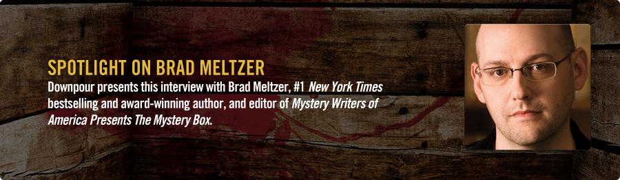 Brad Meltzer Interview - Listen Now