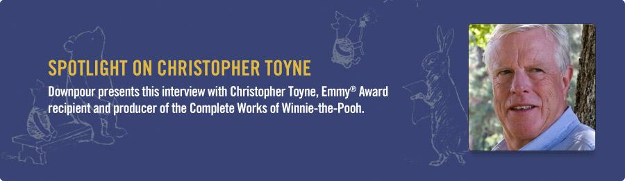 Christopher Toyne Interview - Listen Now