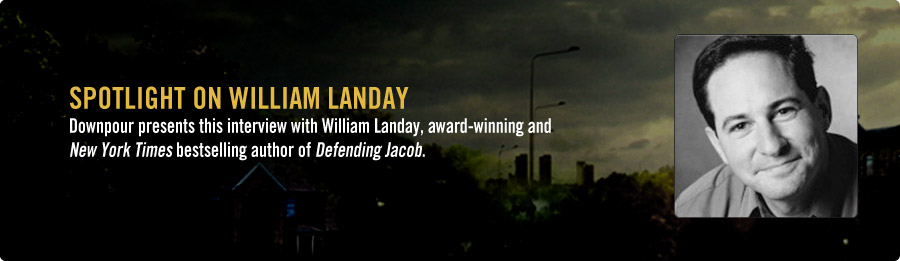 William Landay Interview - Listen Now