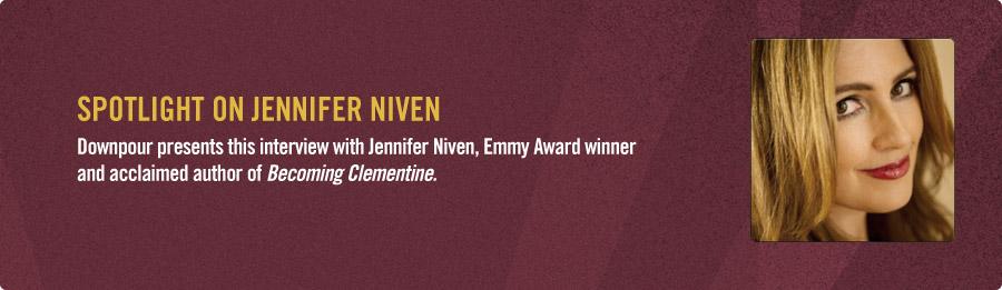 Jennifer Niven Interview - Listen Now